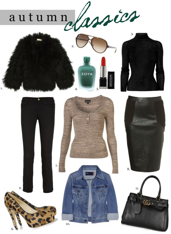 fall essentials - the classics & lust list
