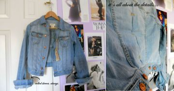 spring shopping - h&m denim jacket