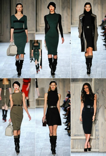 victoria beckham fall rtw 2012 favorites collage