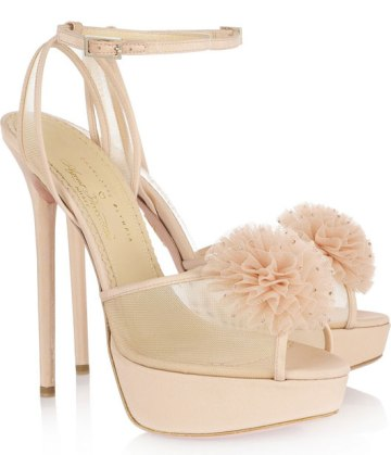 charlotte olympia x agent provocateur nude sandals