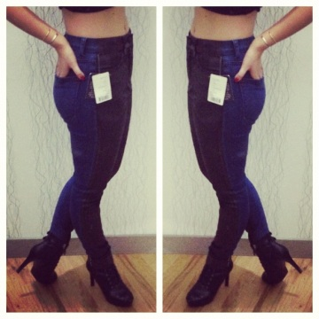 urban outfitters bdg coated jeans