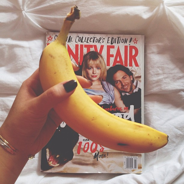 bananas & vanity fair