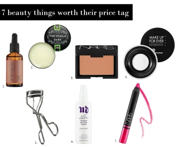 7 beauty things worth their expensive price tag