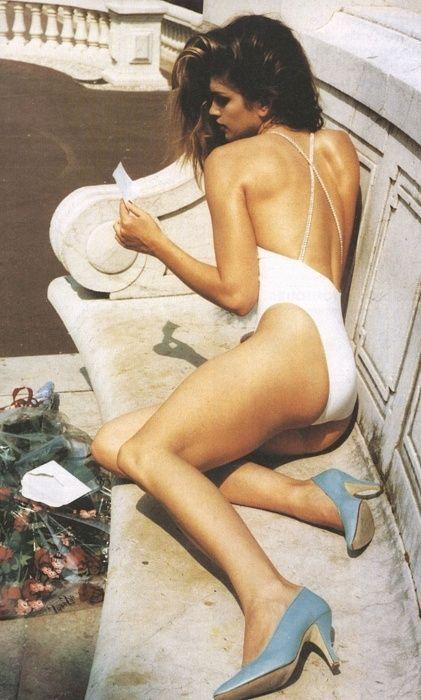 The Venus de Monaco, Cindy Crawford, ph Helmut Newton, US Vogue 1991