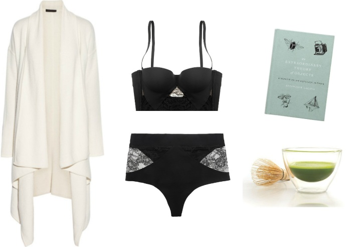 valentine's day lingerie, la perla, stephanie lacava, matcha, donna karan cashmere