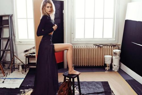 Vogue Korea, Abbey Lee Kershaw, Ralph Lauren Spring 2015 2