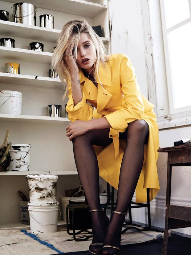 Vogue Korea, Abbey Lee Kershaw, Ralph Lauren Spring 2015 5