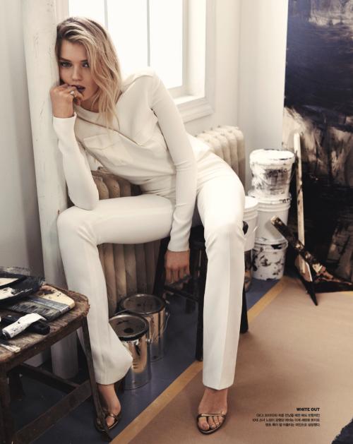 Vogue Korea, Abbey Lee Kershaw, Ralph Lauren Spring 2015 6