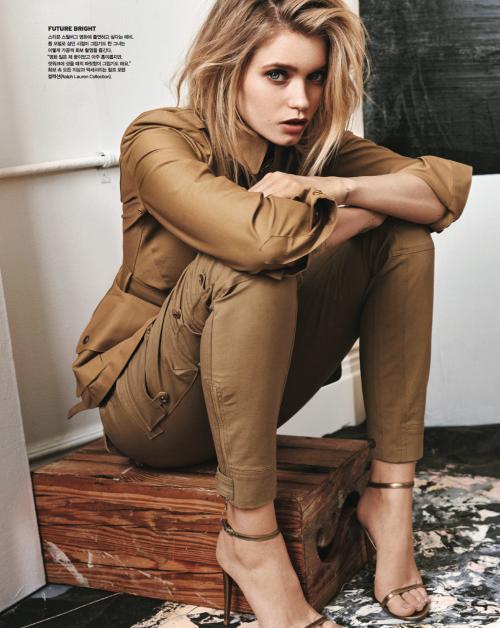 Vogue Korea, Abbey Lee Kershaw, Ralph Lauren Spring 2015 7