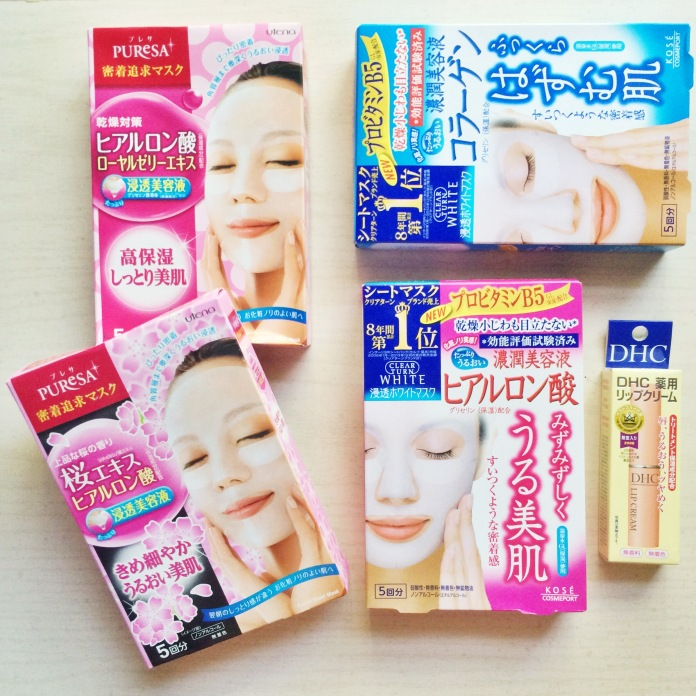 japanese skincare asian beauty haul