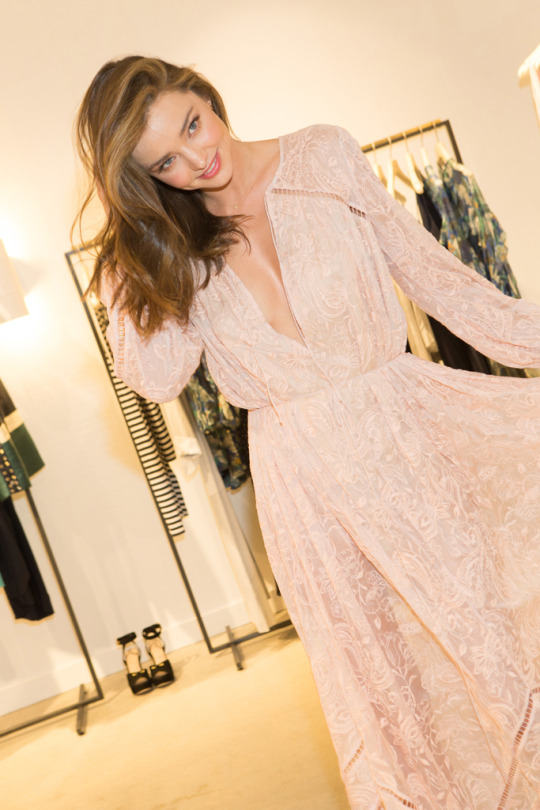 miranda kerr at opening party for zimmiermann's flagship, ph katie jones